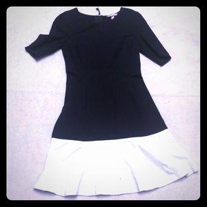 Banana Republic Black and White Dress